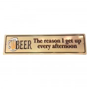 Tektbord Beer